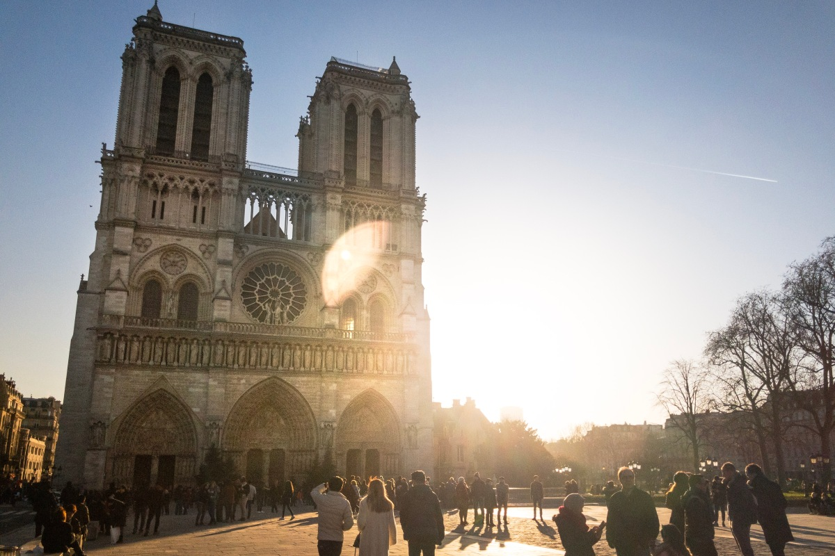 Walking With Ghosts at Notre Dame