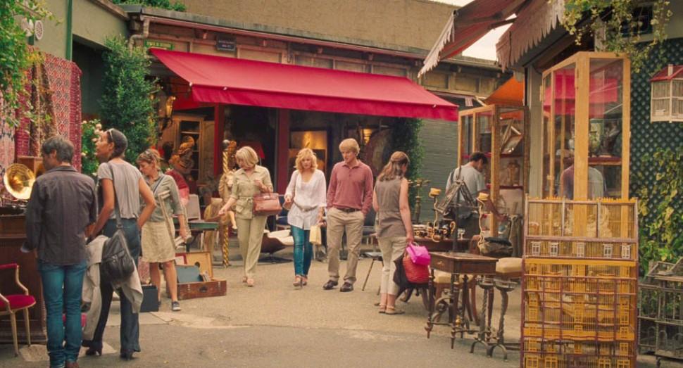 Midnight in Paris St Ouen flea market
