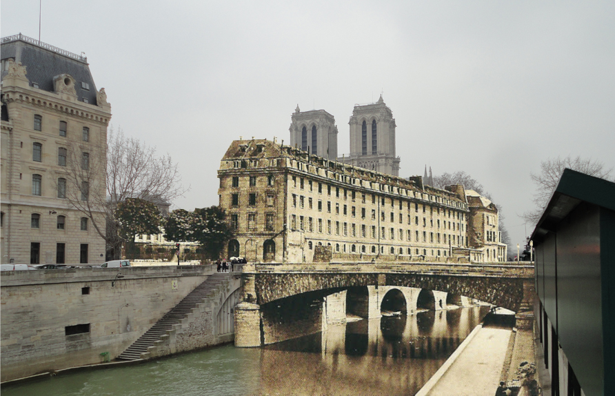 Notre Dame and Bridge