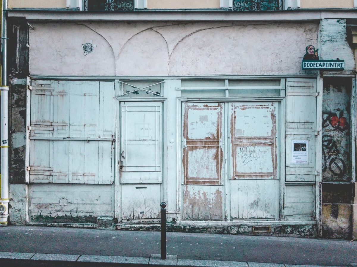 21 Shades of Shabby-Chic: The Facades of Belleville