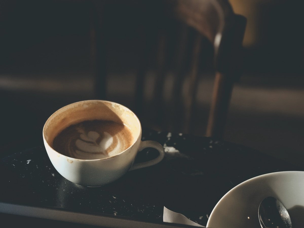 Coffee at La Caféothèque, Paris