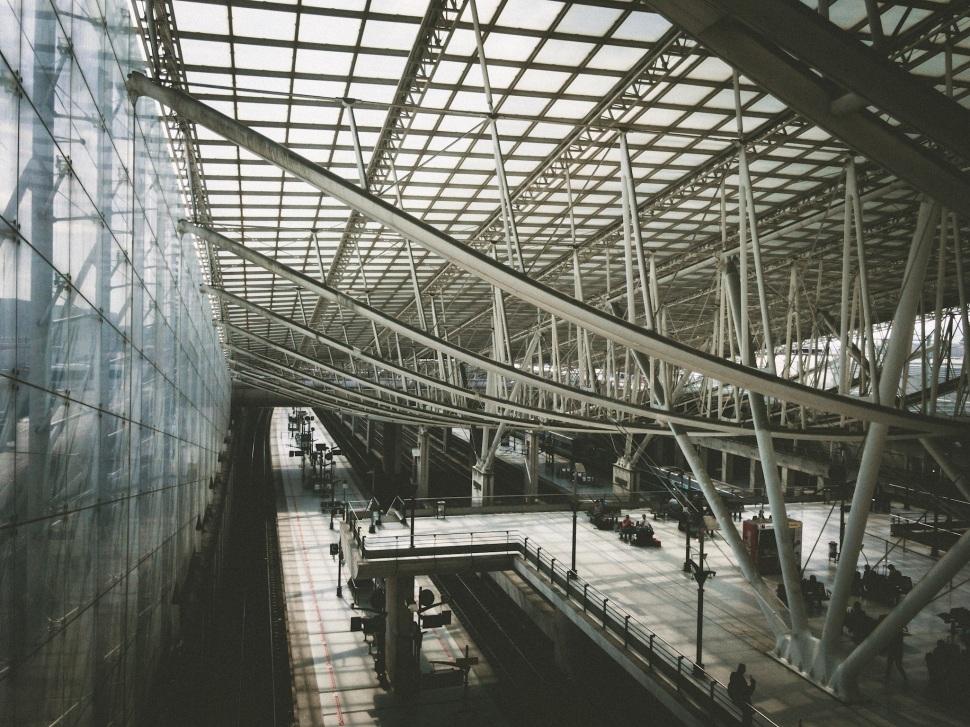 Charles DeGaulle airport, Paris