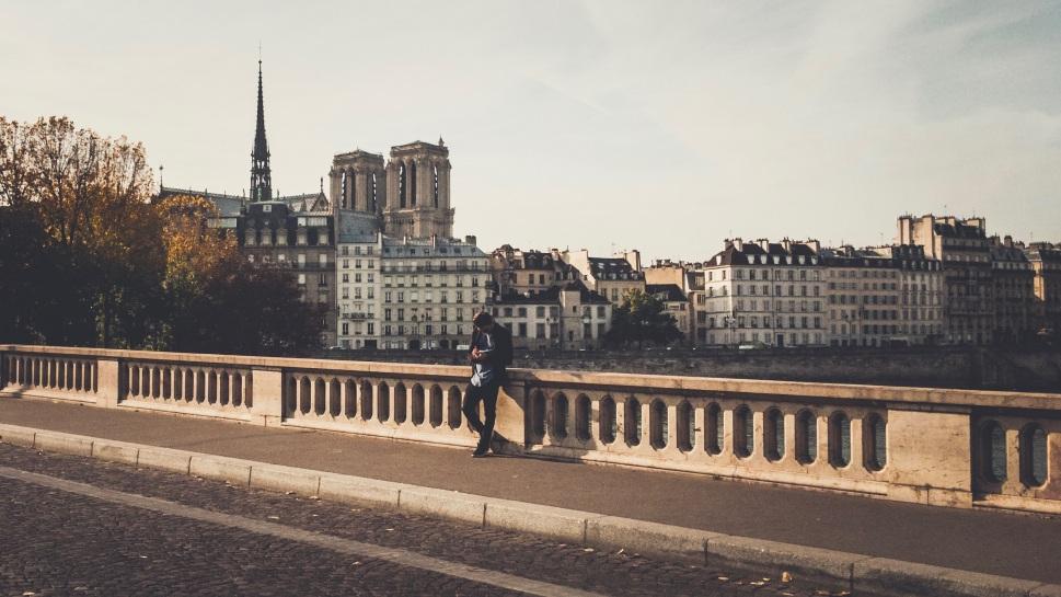 Pont Louis-Philippe and Notre Dame, Paris