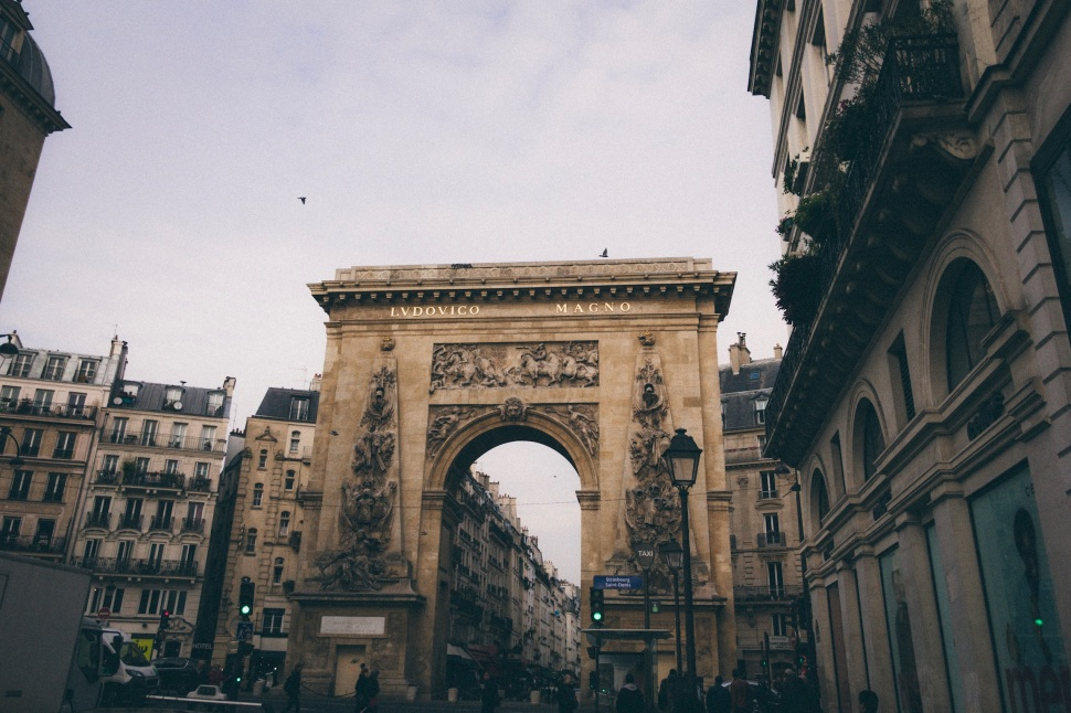Porte Saint Denis, Paris France