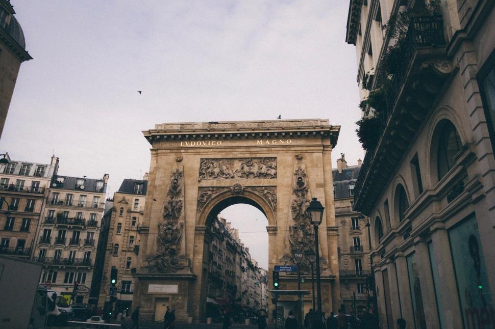 Porte Saint Denis, Paris France